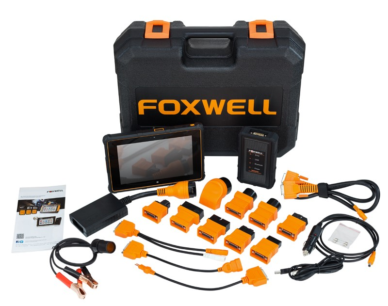 NEXT GENERATION PROFESSIONAL DIAGNOSTIC SYSTEM FROM FOXWELL GT80MINI