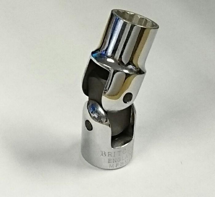 METRIC UNIVERSAL FLEXI HAND SOCKET SET GENIUS TOOLS US-310M 10PC 3//8 INCH  DR