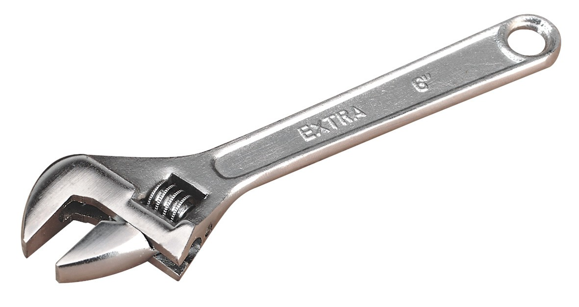 SIEGEN S0450 ADJUSTABLE WRENCH 150MM
