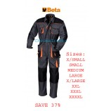 BETA 7905E WORK OVERALLS EXTRA SMALL (Chest: 88-92, Height: 158-164)
