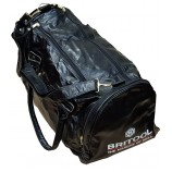 RETRO BRITOOL BRANDED BLACK VINYL FAUX LEATHER SPORTS / TOOL BAG