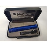 MAGLITE SOLITAIRE KEYRING TORCH - BLUE MADE IN THE USA
