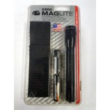 MINI MAGLITE 2-CELL TORCH - BLACK MADE IN THE USA