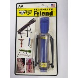 FLASHLITE FRIEND FOR MINI MAGLITE. FLEXIBLE LEGS CAN BE BENT & LOCKED INTO ANY POSITION