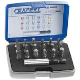 9PC SCREWDRIVER BIT SET FROM STANLEY EXPERT ( TRX / STAR | PH | PZ | HEX \ ALLEN )