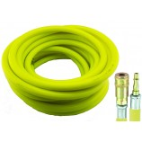 HI-VIS AIR HOSE / AIRLINE 20 METRES 10MM DIAMETER FROM PCL