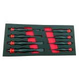 HEAVY DUTY PUNCH & CHISEL SET COLD CHISEL / PIN PUNCH BRITOOL HALLMARK