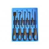 9 PIECE HEAVY DUTY HOOK & PICK SET WITH SCRAPER BRITOOL HALLMARK