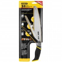 STANLEY 3-IN-1 WOOD PAD SAW, TREE/BRANCH PRUNING + METAL CUTTING SAW