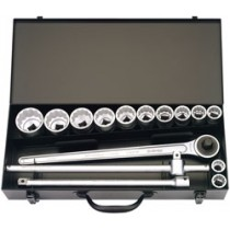 15 PIECE 3-4 INCH SQUARE DRIVE ELORA IMPERIAL SOCKET SET