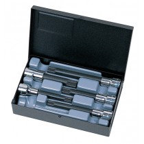 SYKES PICKAVANT 01614000 1/2 INCH SQ DR SPLINE XZN BIT SOCKET SET