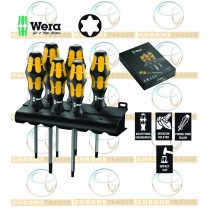 CHISEL SCREWDRIVER SET TORX® KRAFTFORM PLUS FROM WERA TOOLS 6PC 977/6