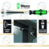 "1/4"" FLEXIBLE SCREWDRIVER FOR 1/4"" BITS KRAFTFORM FROM WERA TOOLS 392"