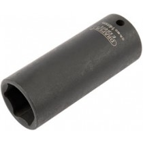 DRAPER EXPERT 14MM 1-4 INCH SQUARE DRIVE HI-TORQ® 6 POINT DEEP IMPACT SOCKET