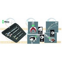 WERA TOOLS 4PC JOKER RATCHET WRENCH / SPANNER SET