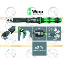 "WERA 1/2"" SD TORQUE WRENCH WITH REVERSIBLE RATCHET 10-50NM CLICK TORQUE C 1"