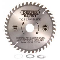 DRAPER EXPERT TCT SAW BLADE 184X30MMX40T