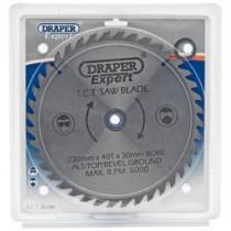 DRAPER EXPERT TCT SAW BLADE 230X30MMX40T