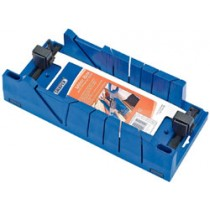 DRAPER EXPERT MITRE BOX WITH CLAMPING FACILITY 370MM X 120MM X 70MM