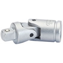 DRAPER EXPERT 1-4 INCH SQUARE DRIVE SATIN CHROME PLATED UNIVERSAL JOINT