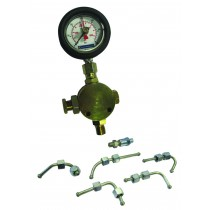 SYKES PICKAVANT 314660V2 HIGH PRESSURE GAUGE & ADAPTORS