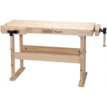DRAPER EXPERT 1495 X 655 X 840MM CARPENTERS WORKBENCH