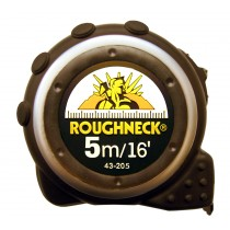 TAPE MEASURE 5 METERS METRIC & IMPERIAL ROUGHNECK 43-205