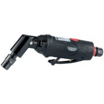 DRAPER EXPERT 6MM COMPACT SOFT GRIP AIR ANGLE DIE GRINDER WITH 115° HEAD