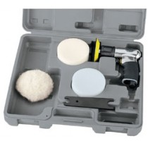 DRAPER EXPERT 75MM COMPACT SOFT GRIP AIR POLISHER KIT