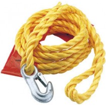 DRAPER 2000KG CAPACITY TOW ROPE WITH FLAG