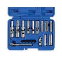LASER TOOLS 6424 18 PIECE SPECIALIST THIN WALLED GLOW PLUG SOCKET SET