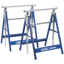 DRAPER PAIR OF TELESCOPIC SAW HORSES OR BUILDERS TRESTLES