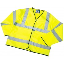 DRAPER EXPERT HIGH VISIBILITY EXTRA LARGE LIGHTWEIGHT JACKET