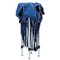 DRAPER 3M X 3M BLUE CONCERTINA GAZEBO