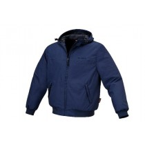 LINED BOMBER STYLE WORK JACKET FROM BETA TOOLS WORKWEAR RANGE SIZE LARGE - 7695BL/L