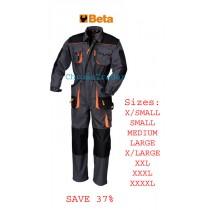BETA 7905E WORK OVERALLS MEDIUM (Chest: 96-104, Height: 170-176)