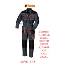 BETA 7905E WORK OVERALLS LARGE (Chest: 104-108, Height: 176-182)