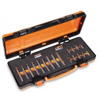 RIBE BIT SET 18 PIECES M5-M13 BETA TOOLS