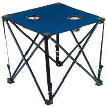 DRAPER BLUE FOLDING CANVAS TABLE