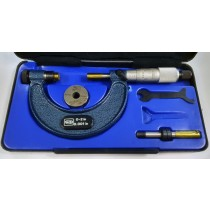 """ORIGINAL MOORE & WRIGHT MICROMETER 0-2"""" MADE IN ENGLAND!"""