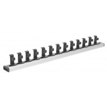 SEALEY AK27078 MAGNETIC SOCKET HOLDER RAIL 3-8 INCH SQ DRIVE