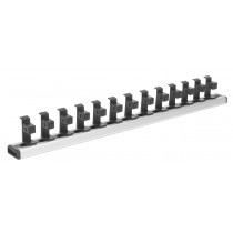 SEALEY AK27079 MAGNETIC SOCKET HOLDER RAIL 1-2 INCH SQ DRIVE