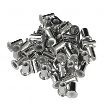 SEALEY AK396/2 RIVET NUT FLAT HEAD ALUMINIUM M4 X 0.7MM (0.5-2.5MM CAP) PACK OF 50