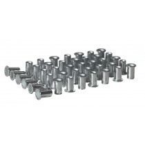 SEALEY AK396/3 RIVET NUT FLAT HEAD ALUMINIUM M5 X 0.8MM (0.5-2.5MM CAP) PACK OF 50