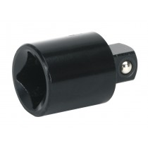 "IMPACT ADAPTOR 1/2""SQ DRIVE FEMALE - 3/8""SQ DRIVE MALE FROM SEALEY AK5401 SYSP"