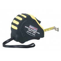 AUTOLOCK MEASURING TAPE 5MTR(16FT) X 19MM METRIC/AF FROM SEALEY AK994 SYSP