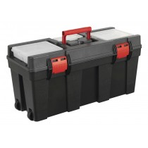 SEALEY AP528 TOOLBOX 650MM WITH TOTE TRAY & WHEELS