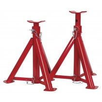 SEALEY AS6000F AXLE STANDS (PAIR) 6TONNE CAPACITY PER STAND FOLDING