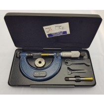 MOORE AND WRIGHT MADE IN ENGLAND MICROMETER 0-50MM SUPPLIED IN BOX PART REF 940M