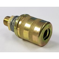 "PCL AIR COUPLING 1/4"" BSP MALE"
